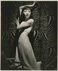 Anna May Wong--decaying hollywood mansion's