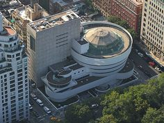 Guggenheim Museum- New York City - Aerial View | by Arch_Sam