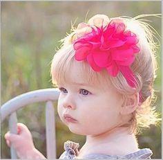 kit com 3 faixas cabelo bebe tiara flor laço vários modelos!
