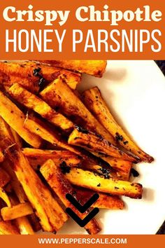 1 reviews · 25 minutes · Vegetarian Gluten free Paleo · Serves 4 · Parsnips are always a surprise favorite for many – with their natural earthy sweetness.. The sticky honey in this recipe sweetens up this smoked spicy chipotle pepper, and together they make for a… More