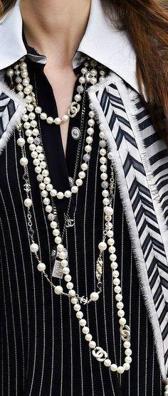 Chanel ~ Spring 2015 RTW Paris details
