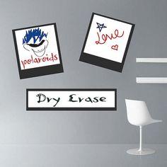 Polaroid Dry Erase Wall Decal
