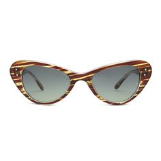 NEW RELEASE 'Grace'(1959) in Flame, Oliver Goldsmith Sunglasses  - originally worn by Grace Kelly.