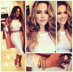 ADORE this Khloe Kardashian makeup look