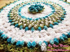 Artes da Desi: Tapete Soft Flor Generosa http://www.artesdadesi.com/2014/10/tapete-soft-flor-generosa.html