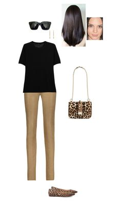 """Sem título #7262"" by gracebeckett on Polyvore featuring moda, Rick Owens, Joseph, Valentino, Jennifer Fisher e Gianvito Rossi"