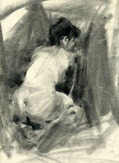 Marissa by Jennifer McChristian Charcoal ~ 14 x 11