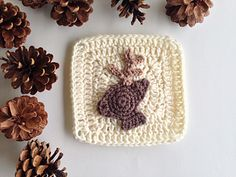 Ravelry: Woodland Deer Granny Square pattern by Maria's Blue Crayon
