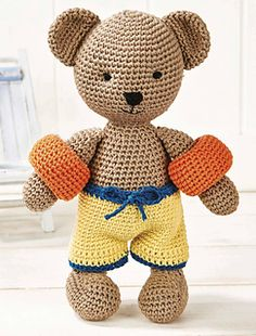 Oliver the bear by Mary's Amiland