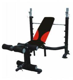 alat fitnes benchpress untuk melatih otot dada lengan dan bahu adjustable incline bench