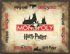 Design in Technology Education: How to Make Harry Potter Monopoly   I have to do this!