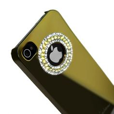 EILEEN CIRCLE LIME - kingdom Gold voor iPhone 4 en 4S #covermaniabe #iphone4hoesje #iphonecover www.cover-mania.be