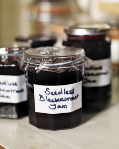 There's nothing more wholesome than making your own blackcurrant jam – spread it thickly on white bread or between layers of cake for a twist on Victoria sponge. Jam Recipes, Canning Recipes, Recipies, Blackcurrant Jam Recipe, Blackberry And Apple Jam, Currant Recipes, Victoria Sponge, White Bread, Baking Ingredients