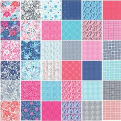 Paradiso By Kate Spain Moda Jelly Roll, Set of 40 2.5x44-inch (6.4x112cm) Precut Cotton Fabric Strips » http://lnreviews.com/Paradiso-2-5x44-inch-6-4x112cm-Precut-Cotton