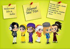 Gambar Kartu Ucapan Idul Fitri