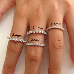 Common Shared Prong Diamond Eternity Ring, Diamond Wedding Band, Solid Gold Delicate Band for Women Eternity Ring Diamond, Diamond Wedding Bands, Diamond Bands, Diamond Cuts, Wedding Rings, Gold Wedding, Eternity Rings, Diamond Choker, Autumn Wedding