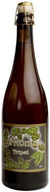 """Kerckomse Tripel • Speciaal gebrouwen ter gelegenheid van het 125-jarig bestaan van de brouwerij en voorgesteld tijdens de feesten van 21 tot 25 augustus 2003. Het is gebrouwen met de beste grondstoffen, driemaal zoveel als voor een """"enkel"""" biertje! Deze Tripel is een """"droog"""" bier met een fruitige neus en, dankzij de Belgische hop, een lange bitterige nasmaak hetgeen dit bier zo karaktervol maakt. Het alcoholgehalte van de Kerckomse Tripel: 9% vol.alc"""
