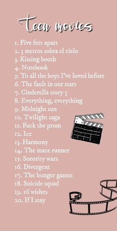 My top 20 movies Teen, romance, action, musical… Choose It is really a literary movement that shows its effect … Netflix Movies To Watch, Good Movies On Netflix, Movie To Watch List, Shows On Netflix, Netflix List, Netflix Suggestions, Netflix Series, Action Movies To Watch, Good Movies To Watch