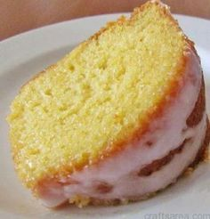 7-UP Moist Cake | Chef's Little Helper - a quick & easy box cake mix recipe with lemon pudding and 7-Up....