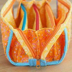 Meine Sew Together Bag ist heute morgen fertig geworden und direkt auf den Blog gehüpft Die ist echt toll und so richtig frühlingshaft - findet ihr nicht? #sewtogetherbag #afterworksewing #blogged #jolijou #pusteblumen