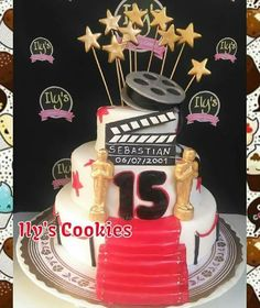 Torta Hollywood *•.¸♥♥¸.•*Ily´s Cookies*•.¸♥♥¸.•*