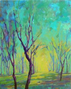 Colors of Spring 6 by Konnie Kim, Painting - Acrylic | Zatista