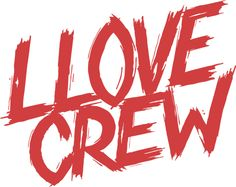 """""""Lost Boys"""" styled LLOVE Crew lettering by Rough&Greedy"""