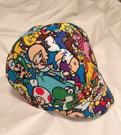 Welding Super Mario Coins Handmade 100/% cotton Biker pipefitter,4 panel hat