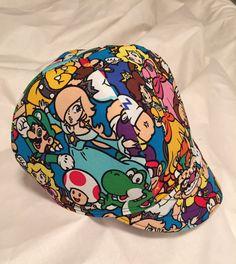 Super Mario Brothers Welder Biker Cap Hard Hat Liner