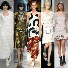 The 7 Biggest Trends of Fashion Week Spring/Summer 2014: The. New Silhouette