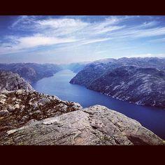 Image by @susi97 in Preikestolen, Norway