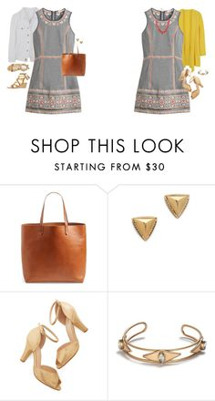 """Untitled #17649"" by hanger731x ❤ liked on Polyvore featuring Madewell, House of Harlow 1960, Chelsea Crew, J.Crew, Kate Spade, women's clothing, women's fashion, women, female and woman"