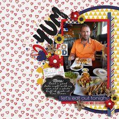 Sushi Date - Scrapbook.com