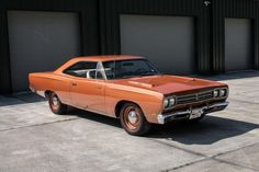 1969 Plymouth Road Runner Hemi Numbers Match!