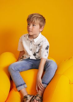 Mango California Palms Trees T-Shirt - Boys Kids Photography Boys, Kids Fashion Photography, Cute Kids Fashion, Teen Fashion, Fashion Shoot, Fashion Outfits, Young Cute Boys, Zara Boys, Boys Swimwear