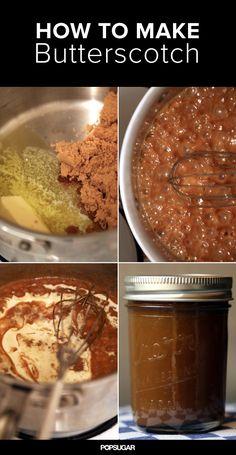 How to Make Butterscotch (aka a Lazy Cook's Caramel Sauce)
