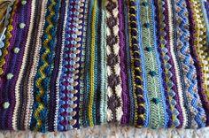 Crochet idea- mixed stitches