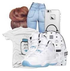 """."" by honey-cocaine1972 ❤ liked on Polyvore featuring MCM"