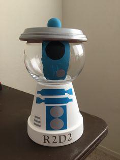 Star Wars R2D2 candy jar