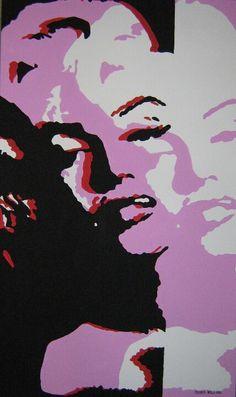 Ideas For Pop Art Painting Andy Warhol Marilyn Monroe Andy Warhol Marilyn, Andy Warhol Pop Art, Roy Lichtenstein, Photo Star, Pop Art Movement, Art Watercolor, Power Pop, Graffiti Artwork, Culture Pop