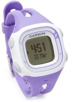 The Garmin Forerunner 10 GPS fitness monitor offers attractive style, powerful performance and user-friendly function.