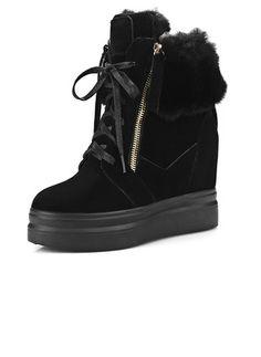 Zapatos Botas Plataforma Botas longitud media Tipo de tacón  ...