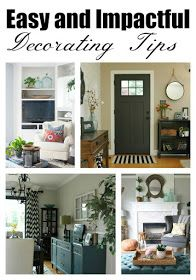 5 Easy and Impactful Decorating Tips