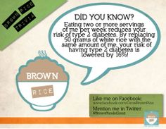 Benefits of brown rice!