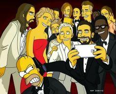 A Estrambólica Arte = ciência + tecnologia + arte: O Oscar de melhor paródia do Selfie do ano vai par...