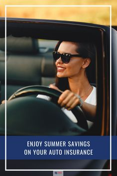 Summer weather is here, and we're all eager to get out and enjoy it! As you spend more time in your vehicle, could you be saving money on your auto insurance premium? This week's article shares some savvy ways to save on your auto insurance. Home And Auto Insurance, Car Insurance, Enjoy Summer, Ways To Save, Getting Out, Outdoor Activities, Saving Money, Vehicle, Weather