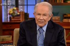If your husband isn't paying attention to you, it's probably because you don't look 'pretty' and 'alert,' talk show host Pat Robertson told viewers - follow link for video. Uneffingbelievable.