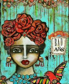 Dia de los Muertos Chingona Chicana          www.facebook.com/profile.php?id=220252444811583&__user=100001765733689