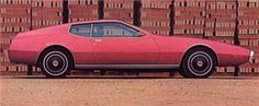 Pontiac CF 428 Concept (Coggiola) (1970)..........Looks to me like the Pontiac boys and Ford boys were swapping design notes (ref 71-73 Mustangs)
