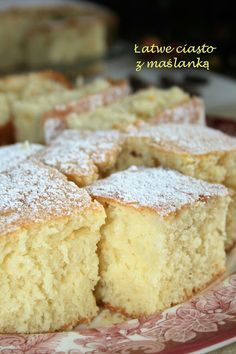 Cookie Desserts, Easy Desserts, Baking Recipes, Cake Recipes, Polish Recipes, Sweet Cakes, Let Them Eat Cake, Yummy Cakes, Love Food